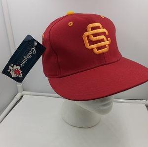 Dead Stock Vtg 90's New Era USC Embroidered Hat